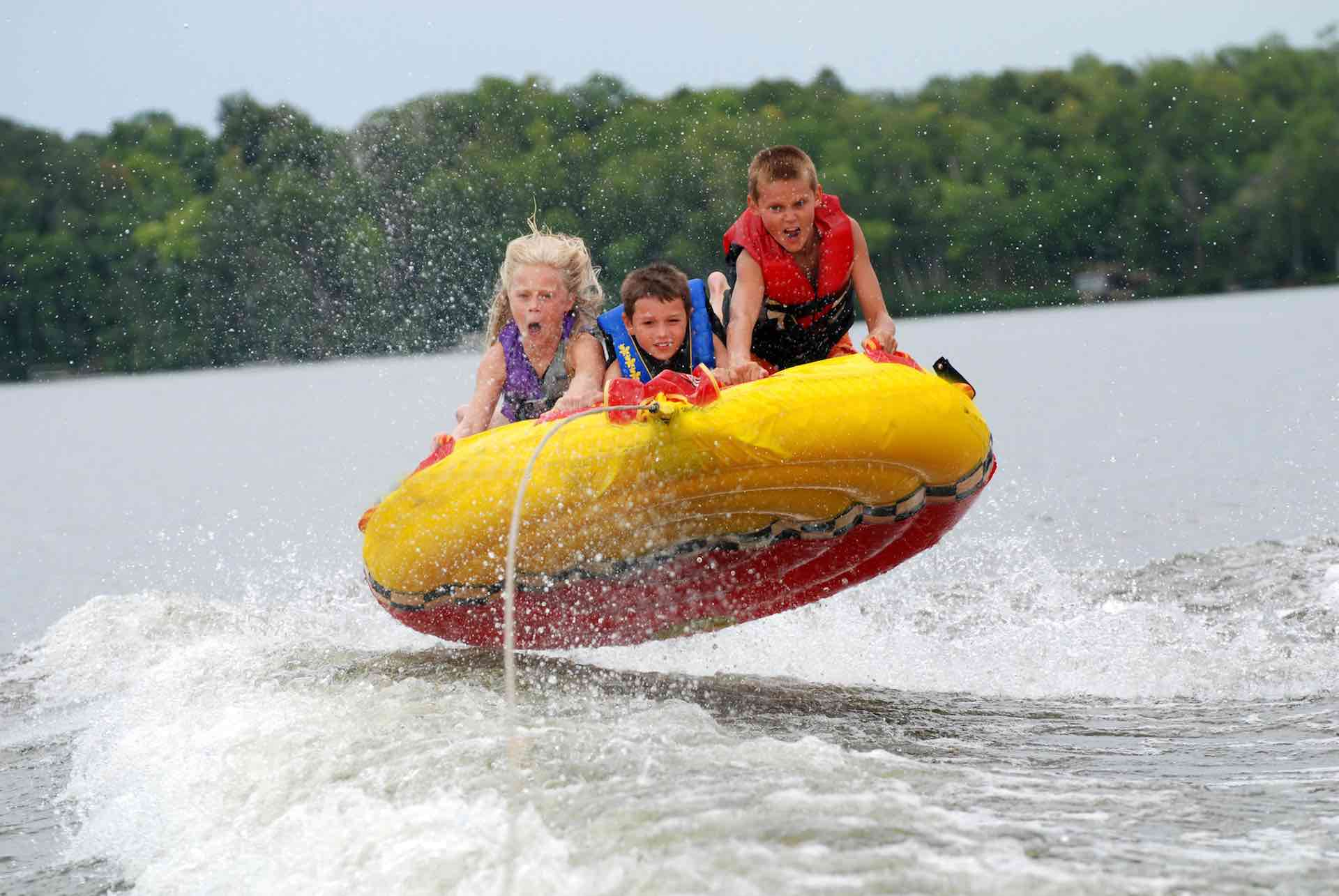 Inflatables - Chase Watersports Centre